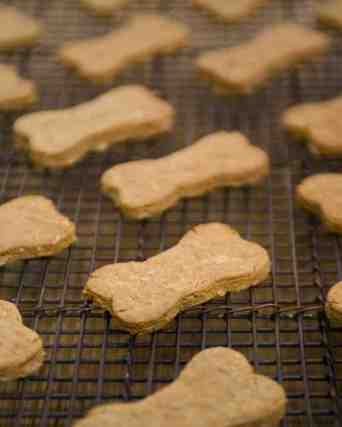 Apple Cheddar Dog Biscuits