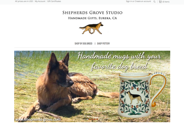 New shepherds-grove.com website