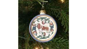 Cavalier King Charles Ornament - handmade