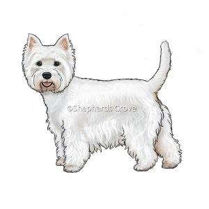 West Highland Terrier Artwork