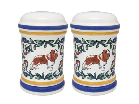 Cavalier King Charles Spaniel Salt and Pepper Shakers