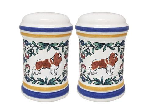 Cavalier King Charles Spaniel Salt and Pepper Shakers